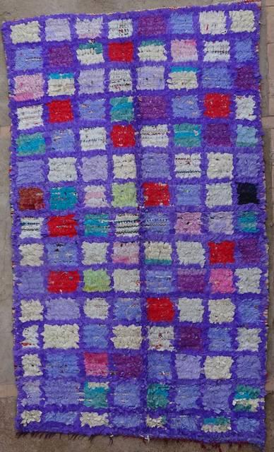 BOUCHEROUITE Boucherouite Medium moroccan rugs T42025