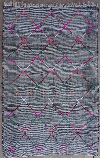 BOUCHEROUITE-KILIMS Boucherouite Large moroccan rugs LKBO42057  kilim