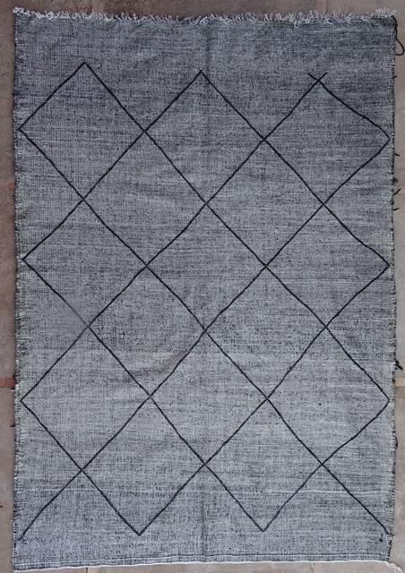 BOUCHEROUITE-KILIMS Boucherouite Large moroccan rugs LKBO42060  kilim