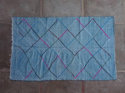 BOUCHEROUITE Boucherouite Large moroccan rugs KLBO42062