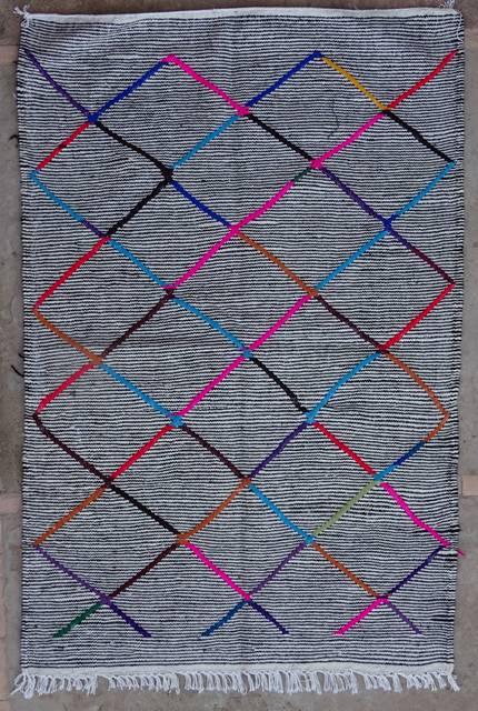 BOUCHEROUITE Boucherouite Kilims moroccan rugs KLBO42067