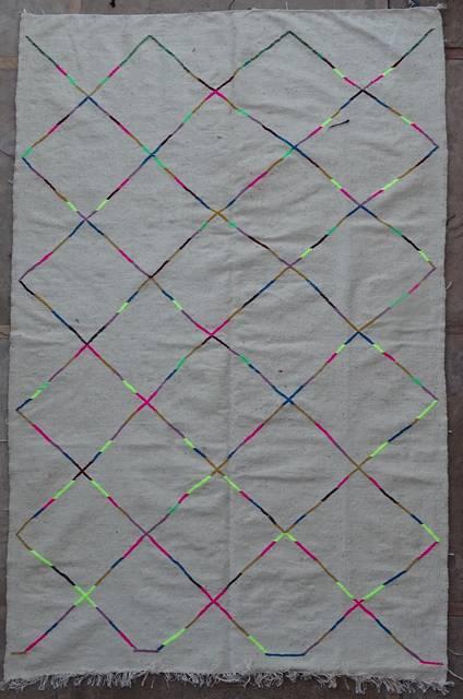 Berber rug LKBO42090  kilim
