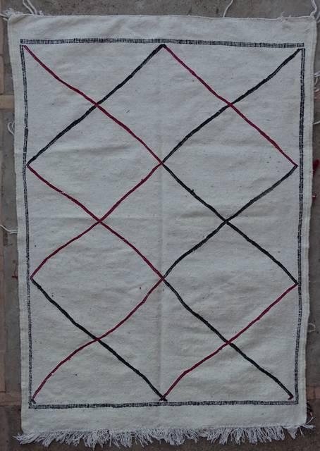BOUCHEROUITE-KILIMS Boucherouite Small moroccan rugs TTKBO42096  kilim