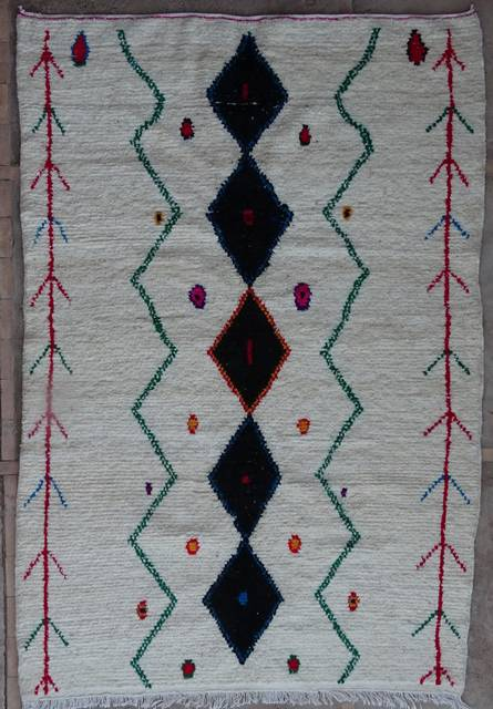 Referenssit Azilal and Ourika moroccan rugs AZ42113