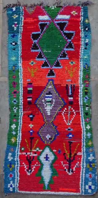 Archive-Sold Boucherouite moroccan rugs C42129