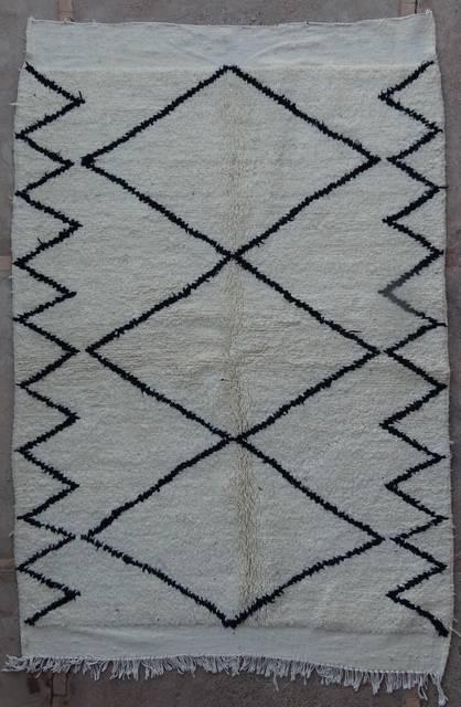 BENI OURAIN-WOLLTEPPICHE Beni Ourain Berber Teppich BO42147/MA