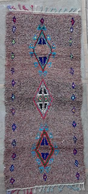 Archive-Sold Boucherouite moroccan rugs C42163