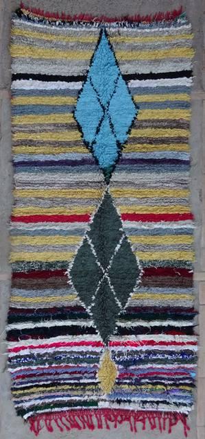 BOUCHEROUITE Boucherouite Medium moroccan rugs T42181