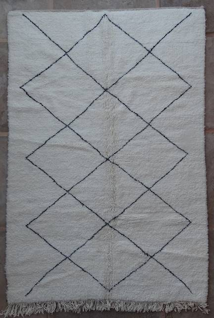 WOOL Rugs - BENI OURAIN Beni Ourain moroccan rugs BO42201/MA