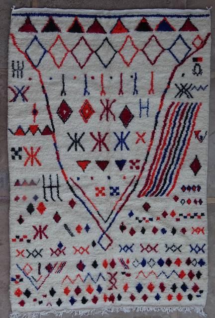 Villamatot – Beni Ouarain Azilal and Ourika moroccan rugs AZ42209