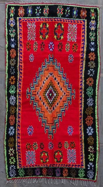 BOUCHEROUITE Boucherouite Large moroccan rugs L42243