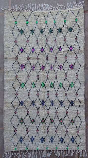WOOL Rugs - BENI OURAIN Azilal and Ourika moroccan rugs AZ42257-182 euros 207 $