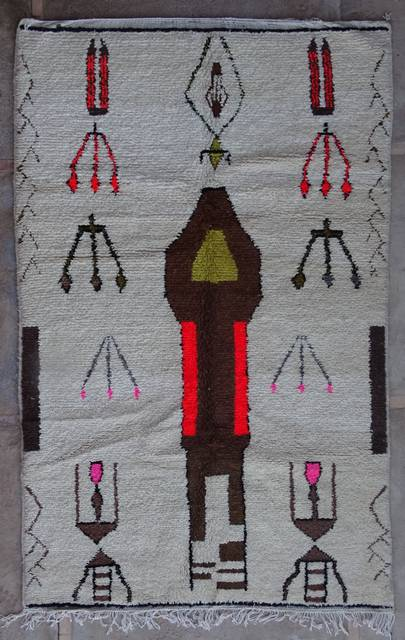 WOOL Rugs - BENI OURAIN Azilal and Ourika moroccan rugs AZ42268-177 euros 200 $