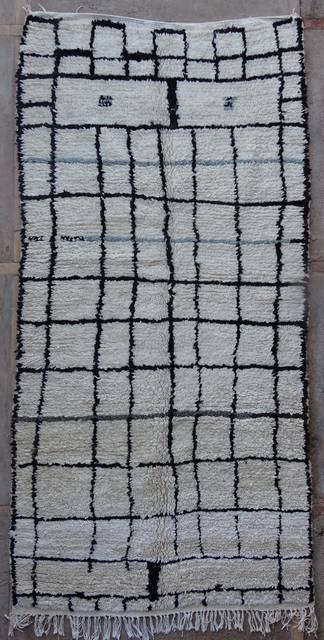 WOOL Rugs - BENI OURAIN Azilal rugs moroccan rugs AZ42273-156 euros 178 $