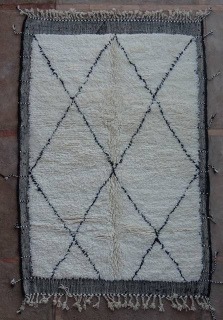 Referenssit Beni Ouarain moroccan rugs BO42293/MA
