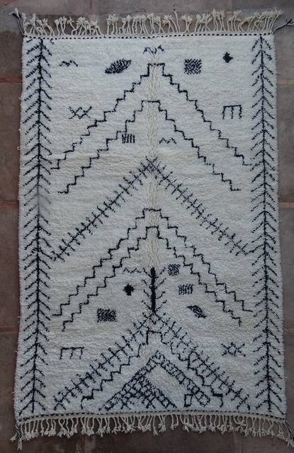 WOOL Rugs - BENI OURAIN Beni Ourain moroccan rugs BO42295/MA
