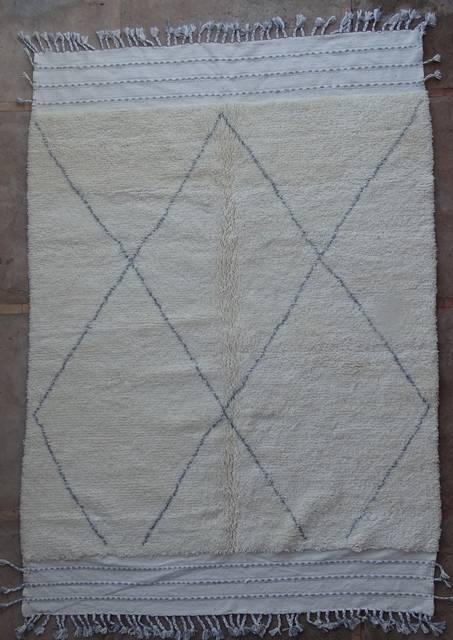WOOL Rugs - BENI OURAIN Beni Ourain moroccan rugs BO42324/MA