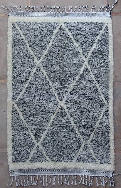 BENI OURAIN-WOOL RUGS Beni Ourain moroccan rugs BO42328/MA