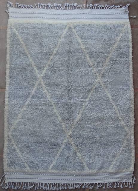 BENI OURAIN-WOOL RUGS Beni Ourain moroccan rugs BO42330/MA