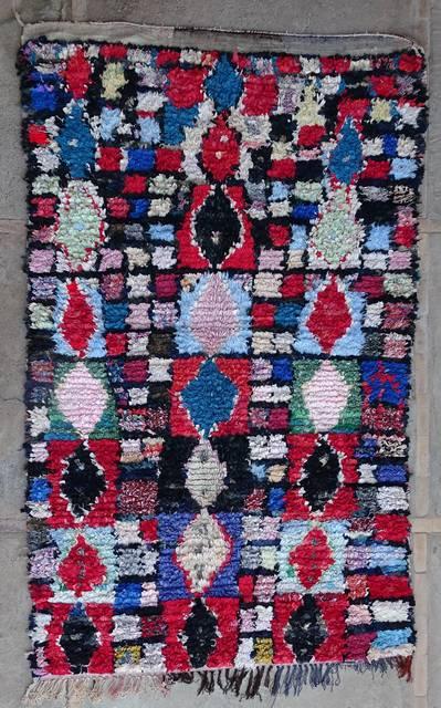BOUCHEROUITE Boucherouite Large moroccan rugs L42350