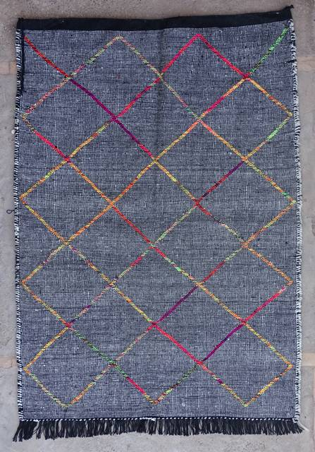 BOUCHEROUITE Boucherouite Kilims moroccan rugs KLBO42357