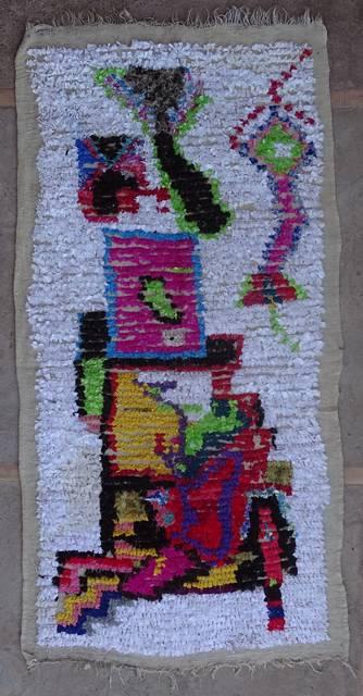 Boucherouite Small moroccan rugs TT42393