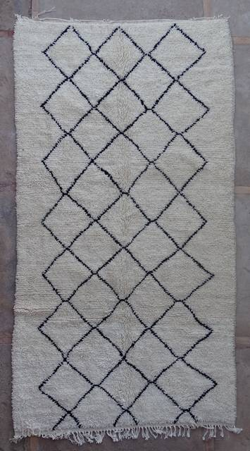 WOOL Rugs - BENI OURAIN Azilal rugs moroccan rugs AZ42425-210 euros 240 $