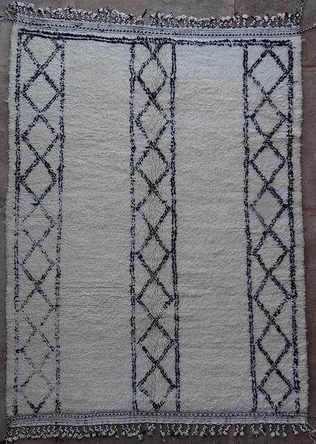 BENI OURAIN-WOOL RUGS Beni Ourain moroccan rugs BO42136/MA