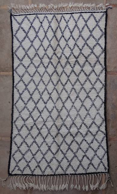 Villamatot – Beni Ouarain  Beni Ourain and Middle Atlas (antique) moroccan rugs BOA43004 BENI OURAIN