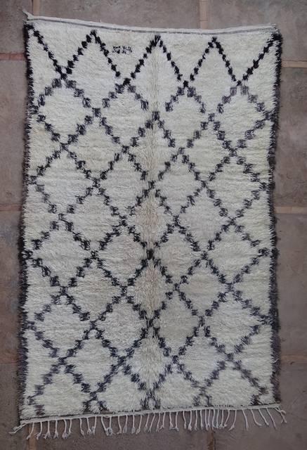BENI OURAIN-WOOL RUGS  moroccan rugs BOA43006 BENI OURAIN