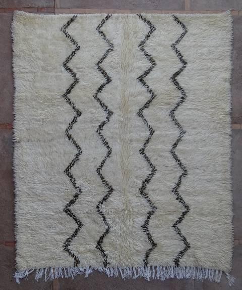 Referenssit Beni Ouarain moroccan rugs BOA43011 Reserved reto