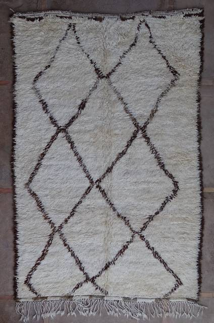 Villamatot – Beni Ouarain  Beni Ourain and Middle Atlas (antique) moroccan rugs BOA43012 BENI OURAIN