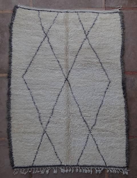 Archive-Sold Beni Ouarain moroccan rugs BOA43015 reserved reto