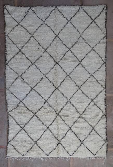 Referenssit Beni Ouarain moroccan rugs BOA43018 reserved reto