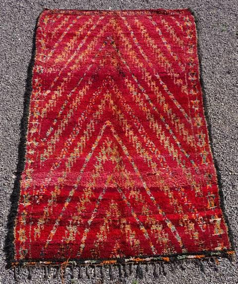 Referenssit Beni Ouarain moroccan rugs AR43036 BENI M'GUILD