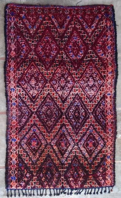 WOOL Rugs - BENI OURAIN Beni Ourain and Middle Atlas Antique moroccan rugs VR43037 BENI M'GUILD