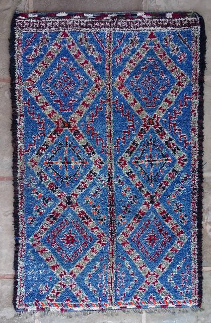 Villamatot – Beni Ouarain  Beni Ourain and Middle Atlas (antique) moroccan rugs VR43040 BENI M'GUILD