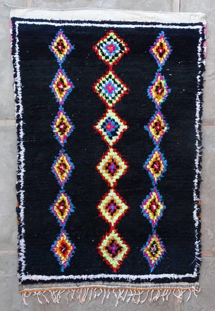 Villamatot – Beni Ouarain Azilal and Ourika moroccan rugs AZ43063