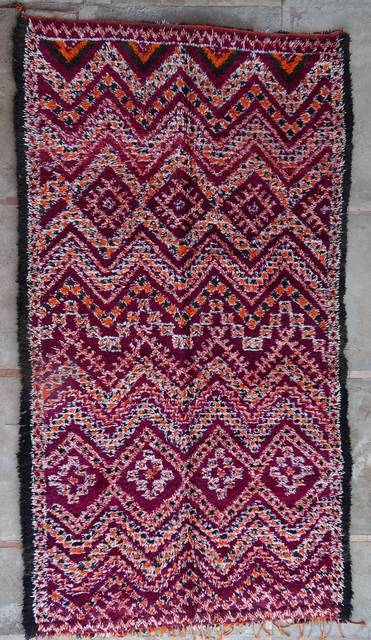 WOOL Rugs - BENI OURAIN Beni Ourain and Middle Atlas Antique moroccan rugs GHAR43043 BENI M'GUILD