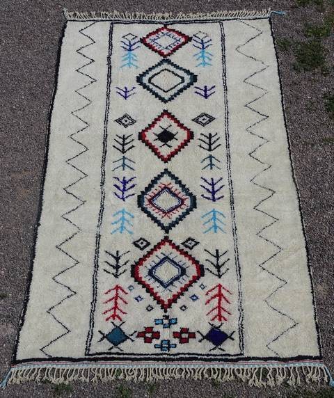 Referenssit Beni Ouarain moroccan rugs BO43067/MA commande