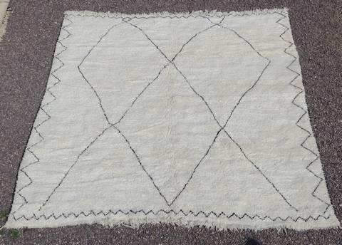 BENI OURAIN-WOOL RUGS Beni Ourain moroccan rugs BO43105/MA