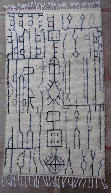 moroccan rugs AZ43148 188 euros 215 usd