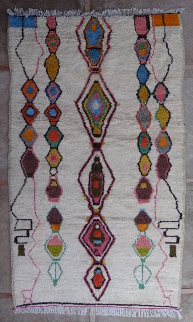 Archive-Sold Azilal and Ourika moroccan rugs AZ43164