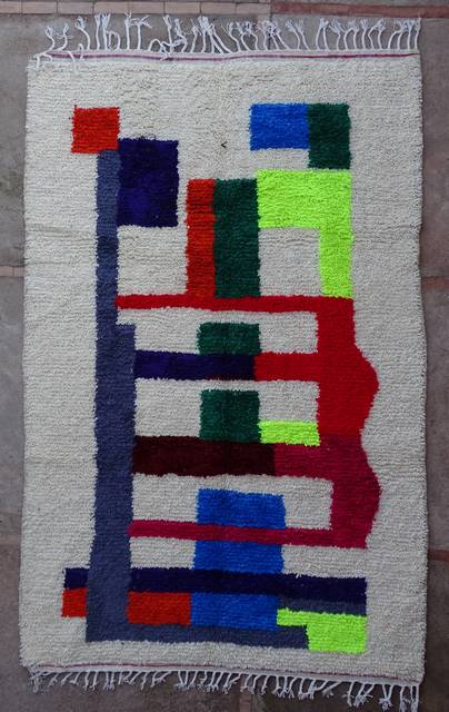Villamatot – Beni Ouarain Azilal and Ourika moroccan rugs AZ43189 RESERVE