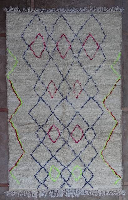 WOOL Rugs - BENI OURAIN Azilal and Ourika moroccan rugs AZ43191