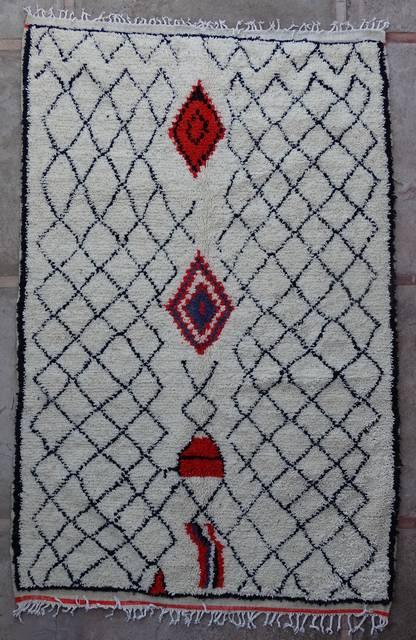 Villamatot – Beni Ouarain Azilal and Ourika moroccan rugs AZ43207