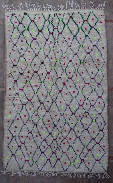 WOOL Rugs - BENI OURAIN Azilal and Ourika moroccan rugs AZ43216-180 euros 206 $