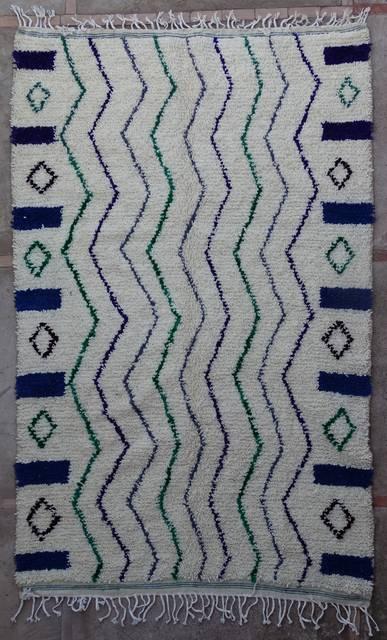 Villamatot – Beni Ouarain Azilal and Ourika moroccan rugs AZ43219