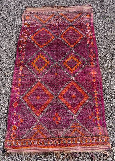 BENI OURAIN-WOOL RUGS Beni Ourain Large sizes moroccan rugs GHAR43034 BENI M GUILD 695 euros  765 usd