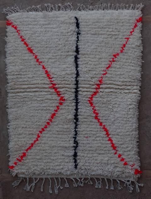 Villamatot – Beni Ouarain Azilal and Ourika moroccan rugs AS44003